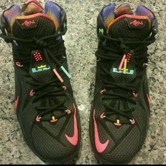 huge discount 46c76 1030a Mens Size 11 Nike LeBron Data 12